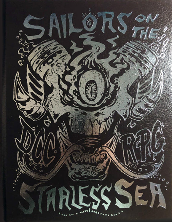 Dungeon Crawl Classics #67: Sailors on the Starless Sea – Limited Edition Foil Cover (Hardcover)