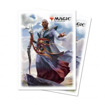 Dominaria Deck Protector sleeves Teferi, Hero of Dominaria for Magic 80 count