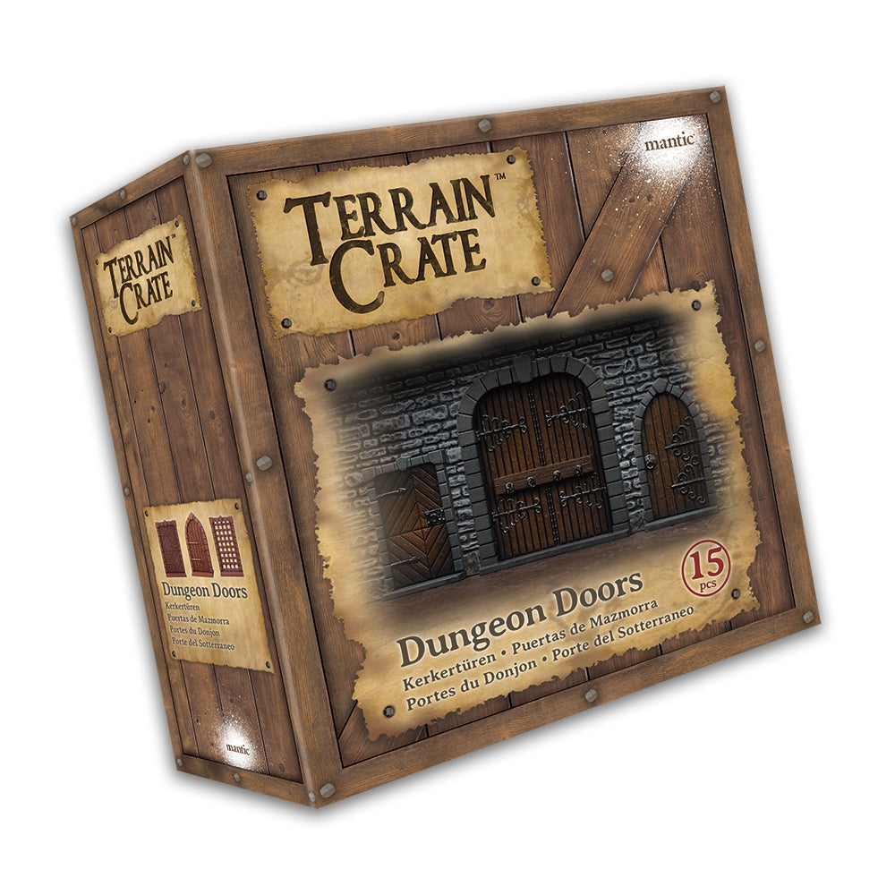 Mantic Terrain Crates: Dungeon Doors