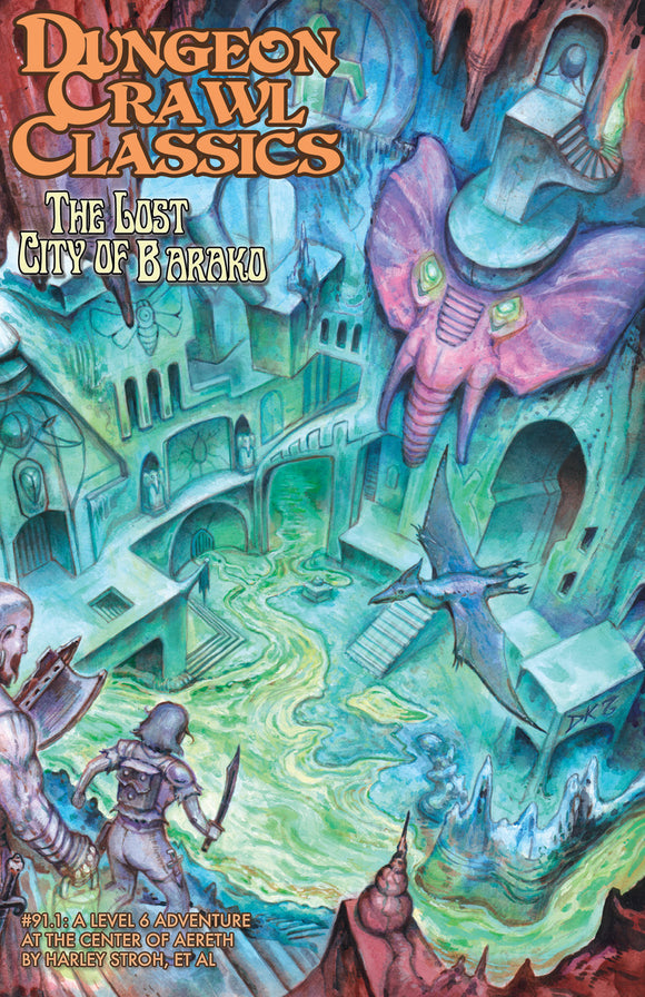 Dungeon Crawl Classics: The Lost City of Barako (Paperback #91.1)
