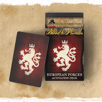 Blood & Plunder - EUROPEAN FORCES ACTIVATION DECK