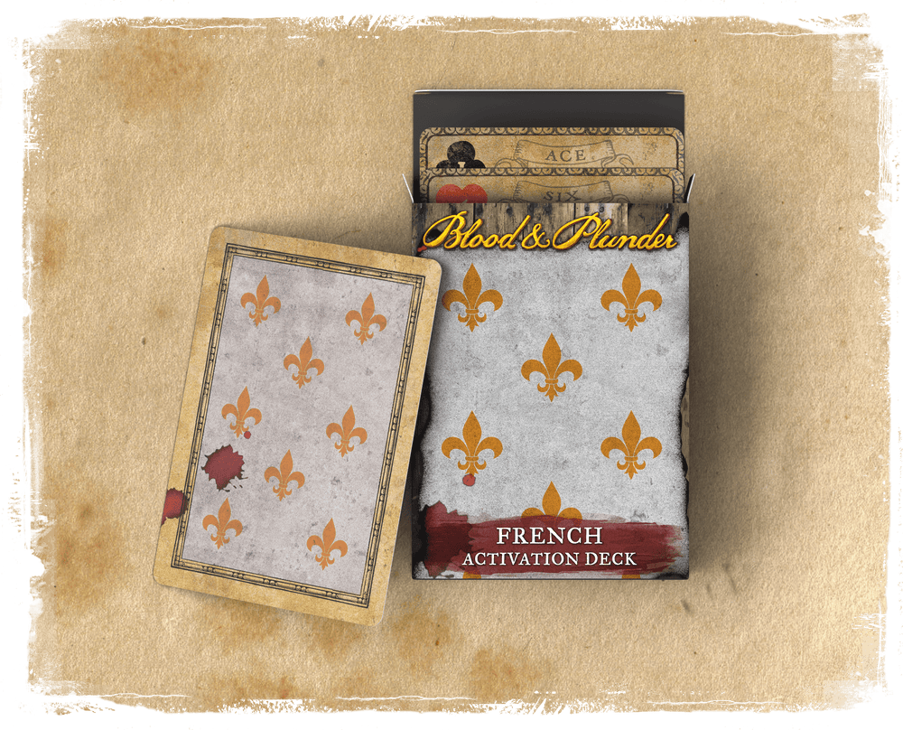Blood & Plunder - French Action Deck