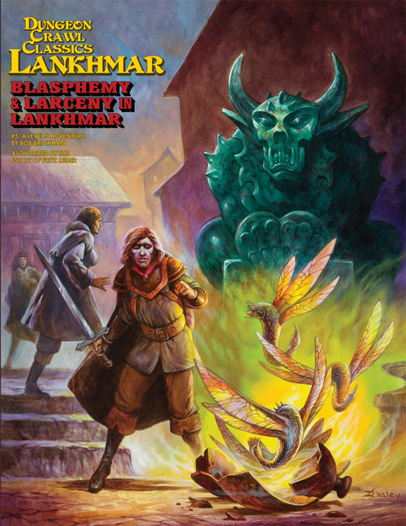 Dungeon Crawl Classics Lankhmar #5: Blasphemy and Larceny in Lankhmar (Softcover)
