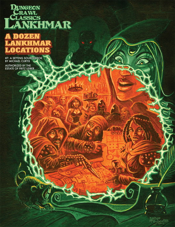 Dungeon Crawl Classics Lankhmar #7: A Dozen Lankhmar Locations (Softcover)