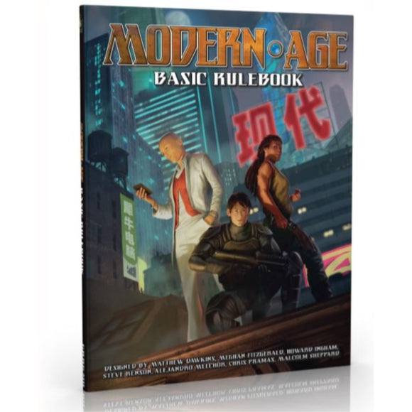 Modern Age Basic Rulebook (Hardcover)