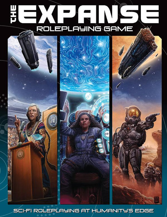 The Expanse Roleplaying Game (Hardcover)
