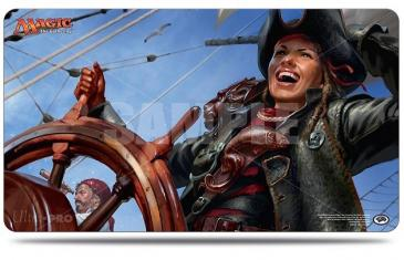 Ixalan, Captain Lannery Storm Playmat for Magic The Gathering