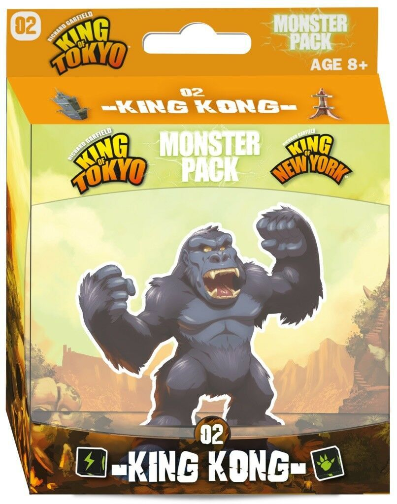King of Tokyo - Monster Pack #2 King Kong (Expansion)