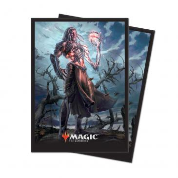 M19 Deck Protector sleeves Tezzeret, Artifice Master for Magic 80 count