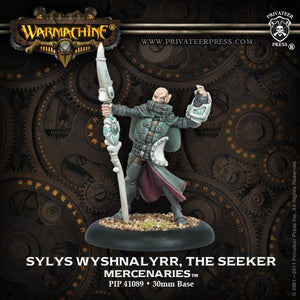 (WARMACHINE) Mercenary Sylys Wyshnalyrr (Mercenaries) PIP41089