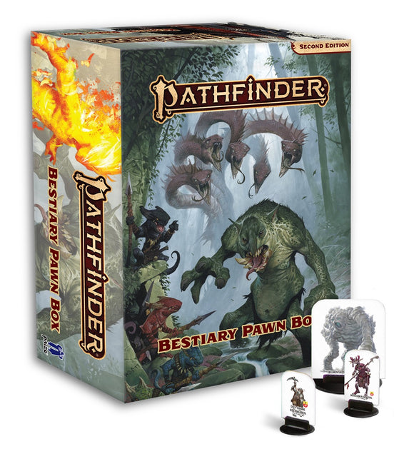 Pathfinder Bestiary Pawn Box For Second Edition