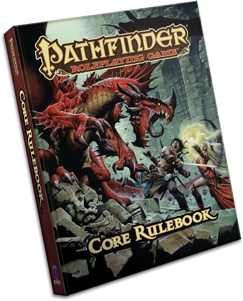 Pathfinder Roleplaying Game Core Rulebook (OGL) - Hardcover