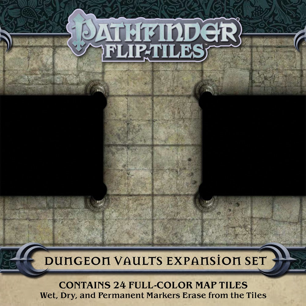 Pathfinder Flip-Tiles: Dungeon Vaults Expansion Set