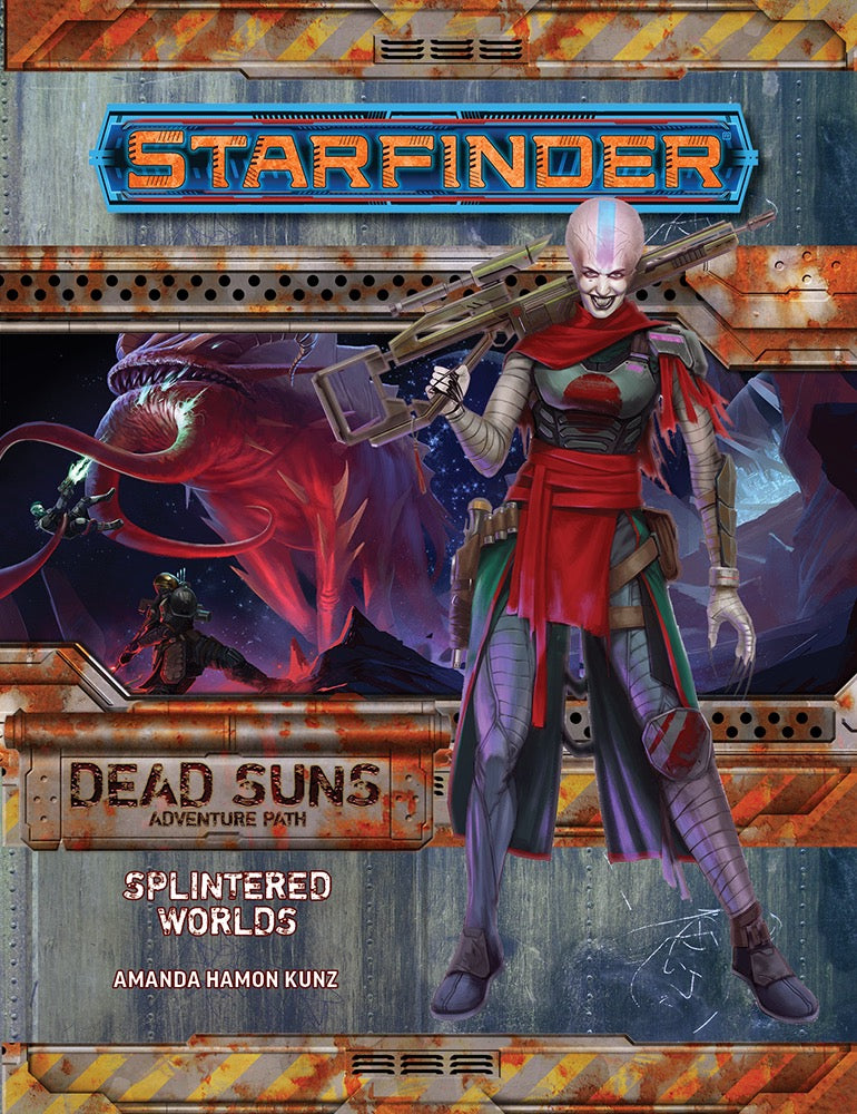 STARFINDER RPG: ADVENTURE PATH - SPLINTERED WORLDS (DEAD SUNS 3 OF 6)