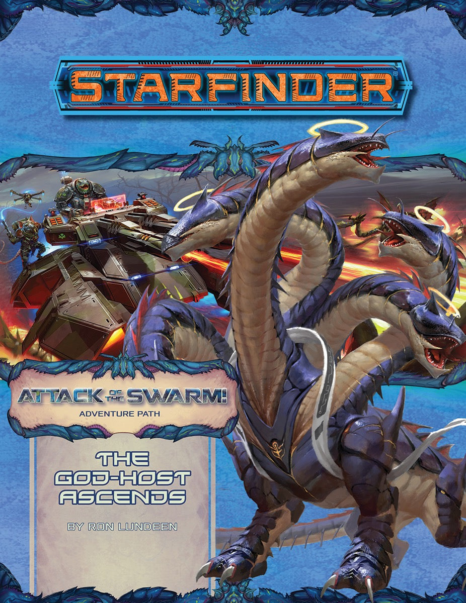 STARFINDER RPG: ADVENTURE PATH - THE GOD-HOST ASCENDS (ATTACK OF THE SWARM 6 OF 6) (Softcover)
