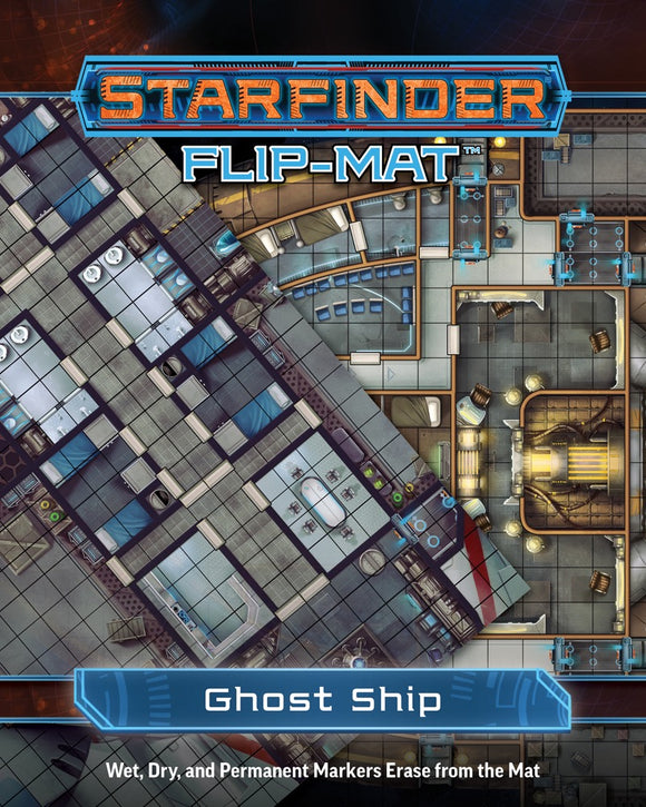 STARFINDER RPG: FLIP-MAT - GHOST SHIP