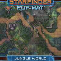STARFINDER RPG: FLIP-MAT - JUNGLE WORLD