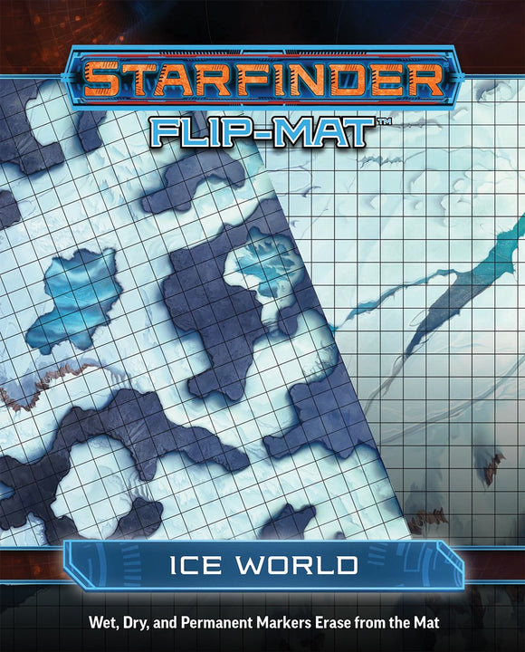 STARFINDER RPG: FLIP-MAT - ICE WORLD