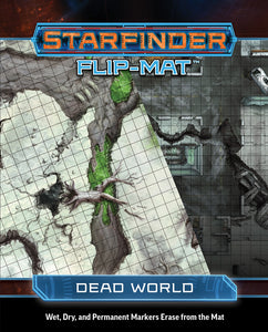 STARFINDER RPG: FLIP-MAT - DEAD WORLD
