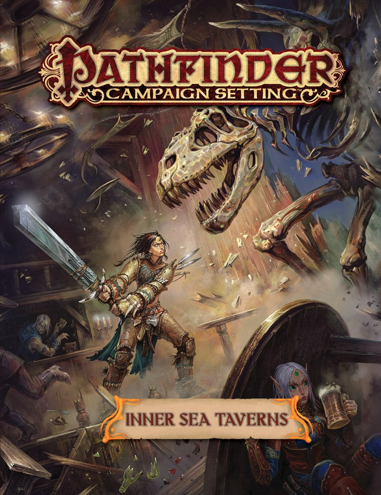 Pathfinder Campaign Setting: Inner Sea Taverns (Paperback)