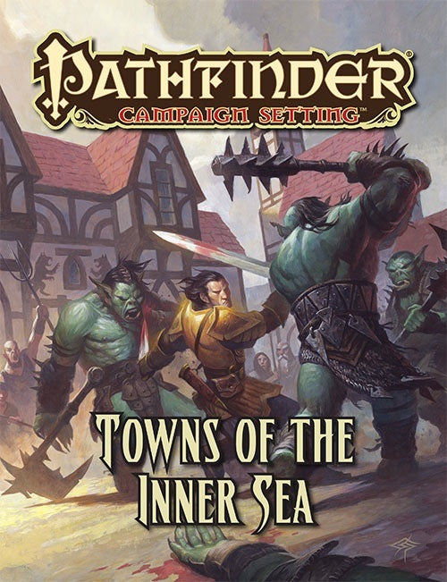 Pathfinder Campaign Setting: Towns of the Inner Sea (Paperback)
