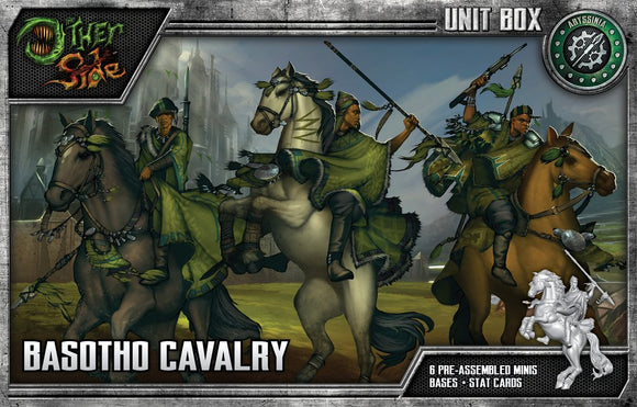 WYRD: THE OTHER SIDE - ABYSSINIA - BASOTHO CAVALRY