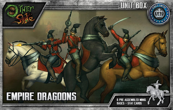 WYRD: THE OTHER SIDE - KING'S EMPIRE - EMPIRE DRAGOONS