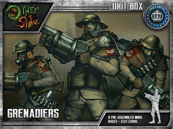 WYRD: THE OTHER SIDE - KING'S EMPIRE - GRENADIERS