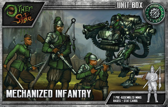 WYRD: THE OTHER SIDE - ABYSSINIA - MECHANIZED INFANTRY