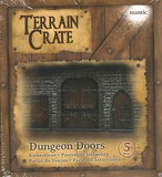 Mantic Terrain Crate: Dungeon Door 5 Piece Set