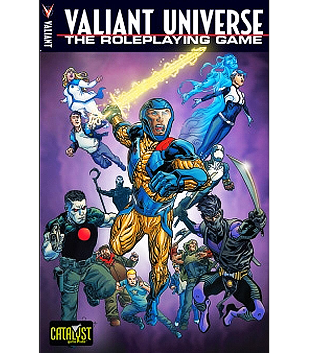 Valiant Universe RPG Core Rulebook