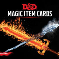 D&D 5th Edition Cards: Magic Items