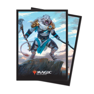"Ultra Pro Magic: The Gathering Core Set 2019 ""Ajani, Adversary of Tyrants Deck Protector Sleeves (80 Count)"