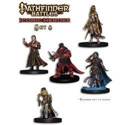 "PATHFINDER BATTLES MINIATURES: ""ICONIC HEROES"" - BOX SET 8"