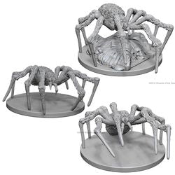 DUNGEONS AND DRAGONS: NOLZUR'S MARVELOUS UNPAINTED MINIATURES - SPIDERS