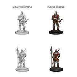 PATHFINDER: DEEP CUTS UNPAINTED MINIATURES - TOWN GUARDS