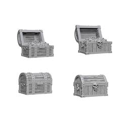 DEEP CUTS UNPAINTED MINIATURES - CHESTS