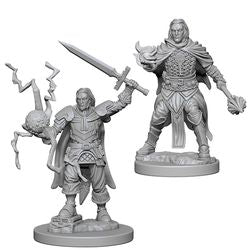 PATHFINDER: DEEP CUTS UNPAINTED MINIATURES - HUMAN MALE CLERIC