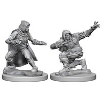 PATHFINDER: DEEP CUTS UNPAINTED MINIATURES - HUMAN MALE ROGUE