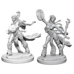 PATHFINDER: DEEP CUTS UNPAINTED MINIATURES - HUMAN FEMALE SORCERER
