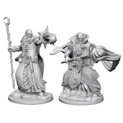 DUNGEONS AND DRAGONS: NOLZUR'S MARVELOUS UNPAINTED MINIATURES - HUMAN MALE WIZARD