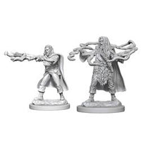 DUNGEONS AND DRAGONS: NOLZUR'S MARVELOUS UNPAINTED MINIATURES - HUMAN MALE SORCERER