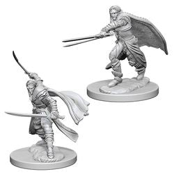 DUNGEONS AND DRAGONS: NOLZUR'S MARVELOUS UNPAINTED MINIATURES - ELF MALE RANGER