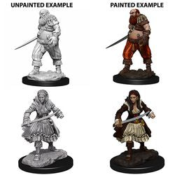 DEEP CUTS UNPAINTED MINIATURES - PIRATES