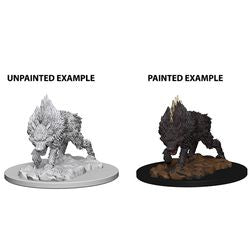PATHFINDER: DEEP CUTS UNPAINTED MINIATURES - DIRE WOLF