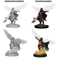 DUNGEONS AND DRAGONS: NOLZUR'S MARVELOUS UNPAINTED MINIATURES - AASIMAR FEMALE WIZARD