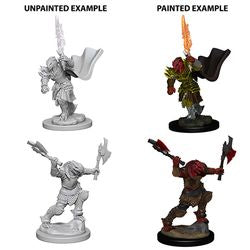 DUNGEONS AND DRAGONS: NOLZUR'S MARVELOUS UNPAINTED MINIATURES - DRAGONBORN FEMALE FIGHTER