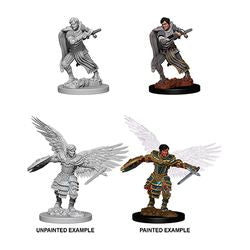 DUNGEONS AND DRAGONS: NOLZUR'S MARVELOUS UNPAINTED MINIATURES - MALE AASIMAR FIGHTER