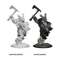 DUNGEONS AND DRAGONS: NOLZUR'S MARVELOUS UNPAINTED MINIATURES - FROST GIANT MALE