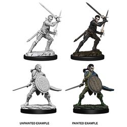 PATHFINDER: DEEP CUTS UNPAINTED MINIATURES - FEMALE ELF FIGHTER